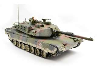 Hobby Engine Premium Label RC M1A1 Abrams Tank - 2.4Ghz