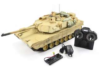 Hobby Engine Premium Label RC M1A2 Abrams Tank - 2.4Ghz