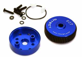 Integy Alloy Diff Housing for 1/10 Slash 2WD, Stampede 2WD, Rustler 2WD, Bandit & Bigfoot