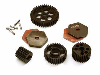 Integy Alloy Machined Transmission Gear Set for Traxxas TRX-4