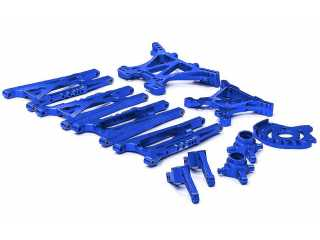 Integy Billet Machined Alloy Conversion Set for Traxxas 1/10 Slash 4X4 (non-LCG)