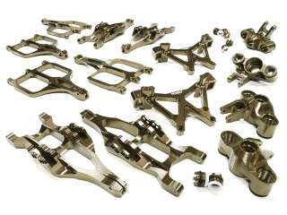 Integy Billet Machined Suspension Set for Traxxas 1/10 T-Maxx/E-Maxx