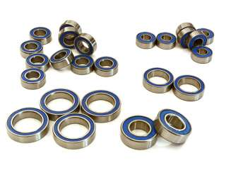 Integy Low Friction Blue Rubber Sealed Bearings (25) Set for Traxxas E-Maxx Brushless
