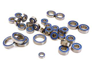 Integy Low Friction Blue Rubber Sealed Bearings (33) Set for Traxxas 1/10 E-Revo