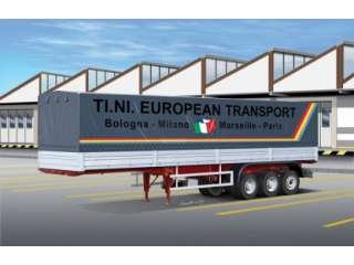 Italeri Classic Canvas Trailer - 1:24