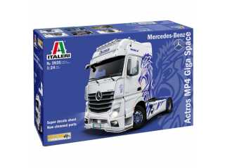 Italeri Mercedes-Benz ACTROS MP4 Giga Space in 1:24 bouwpakket