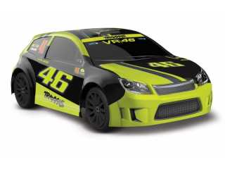 LaTrax Rally 1/18 brushed VR46 Valentino Rossi edition RTR 2.4Ghz - inclusief Power Pack