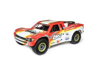 Losi 1:6 Super Baja Rey 4WD Desert Truck Brushless RTR with AVC Red - LOS05013T2