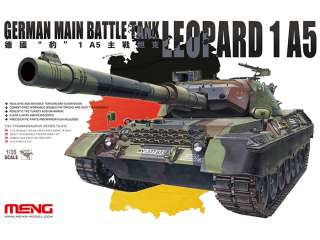 Meng German Main Battle Tank Leopard A15 - 1:35 bouwpakket