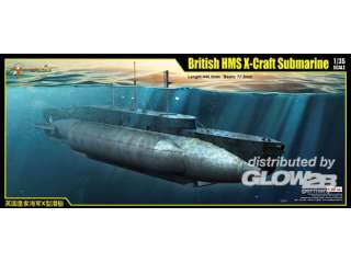 Merit British HMS X-Craft Submarine - 1:35 bouwpakket