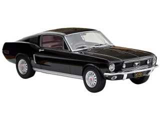 Norev Ford Mustang FastBack 1968 Noire schaalmodel 1/12