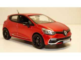 Norev Renault Clio RS 2013 flame red 1:43 schaalmodel