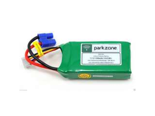 Parkzone 11.1V 1300mAh LiPo Battery with EC3 Connector