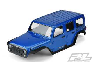 "Proline body Pre-Painted Pre-Cut Jeep Wrangler Unlimited Rubicon (Blue) for 12.8"" Wheelbase TRX-4"