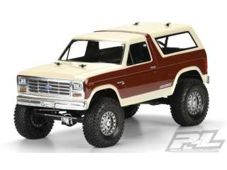 Proline body 1981 Ford Bronco voor 313mm crawlers