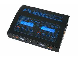 PulseTec Ultima 400 Duo Lipo Lader (400 Watt)