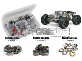RCScrewZ - Arrma RC Outcast 6s BLX Metal Shielded Bearings