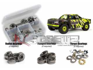 RCScrewZ ARRMA Mojave 6S BLX 1/7 Rubber Shielded Bearings