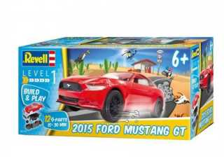 REVELL 2015 FORD MUSTANG GT BUILD & PLAY - 06110