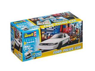 REVELL FORD POLICE CAR BUILD & PLAY - 06112