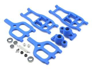RPM E-Maxx T-Maxx True-Track Rear A-arm Conversion - Blue RPM80945