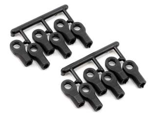 RPM Rod Ends Short for Traxxas 1/10 - Black RPM80472