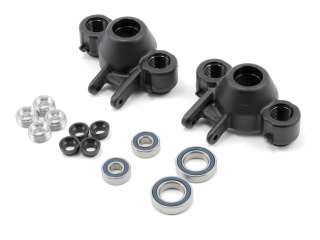 RPM T-Maxx & E-Maxx & E-Revo Axle Carriers & Oversized Bearings - Black RPM80582