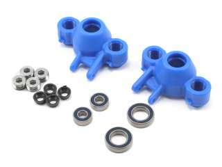 RPM T-Maxx & E-Maxx & E-Revo Axle Carriers & Oversized Bearings - Blue RPM80585