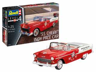 Revell 1955 Chevy Indy Pace Car in 1:25 bouwpakket