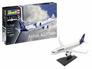 "Revell Airbus A320 Neo Lufthansa ""New Livery\"" in 1:144 bouwpakket"
