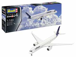 Revell Airbus A350-900 Lufthansa New Livery in 1:144 bouwpakket