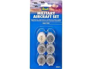 Revell Aqua Color Military Aircraft Set