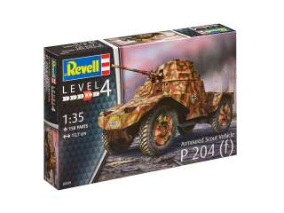 Revell Armoured Scout Vehicle P204 f in 1:35 bouwpakket