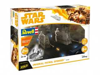 Revell Build & Play Imperial Patrol Speeder 1:28