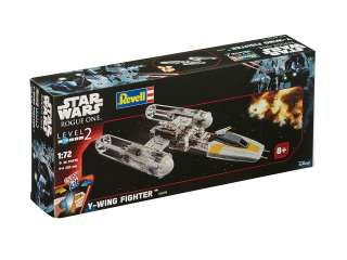 Revell Easykit Y-Wing Fighter in 1:72 bouwpakket