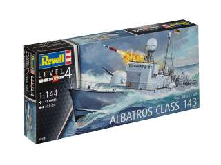 Revell Fast Attack Craft Albatros Class 143 in 1:144 bouwpakket