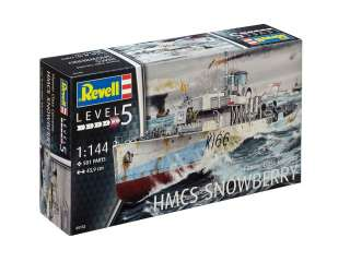 Revell Flower Class Corvette HMCS SNOWBERRY in 1:144 bouwpakket