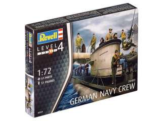 Revell GERMAN NAVY CREW WWII in 1:72 bouwpakket