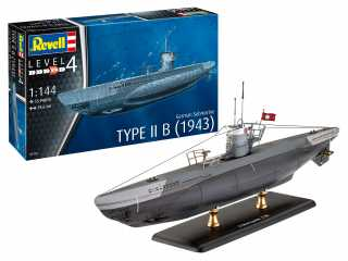 Revell German Submarine Type IIB (1943) in 1:144 bouwpakket
