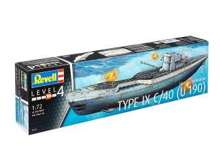 Revell German Submarine Type IX C40 U190 in 1:72 bouwpakket