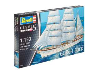 Revell Gorch Fock in 1:150 bouwpakket