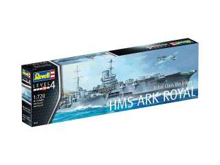 Revell HMS Ark Royal & Tribal Class Destroyer in 1:720 bouwpakket