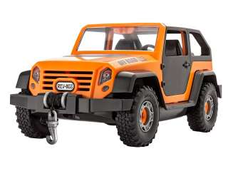 Revell Junior Kit Off-Road Jeep in 1:20 bouwpakket
