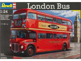 Revell London Bus in 1:24 bouwpakket