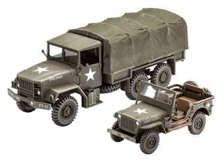 Revell M34 Tactical Truck + Off-Road Vehicle in 1:35 bouwpakket