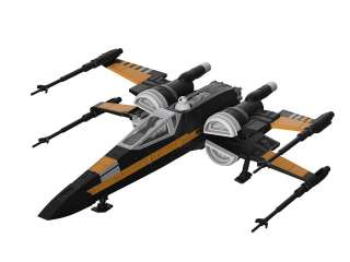 Revell Poe-s Boosted X-Wing Fighter in 1:78 bouwpakket