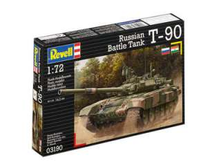 Revell Russian Battle Tank T-90 in 1:72 bouwpakket