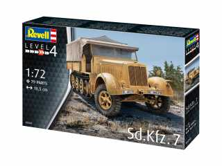 Revell Sd.Kfz. 7 (Late Production) in 1:72 bouwpakket