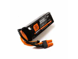 Spektrum 22.2V 3200mAh 6S 30C Smart LiPo Battery, IC5 - SPMX32006S30