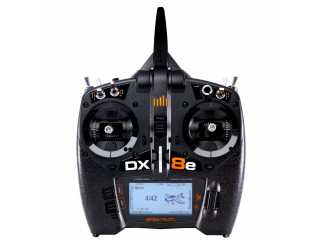 Spektrum DX8e 8-kanaals DSMX Transmitter Only